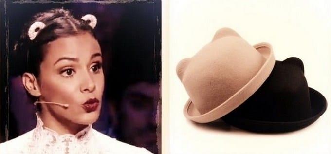 Accessoires à oreilles versus double bun.