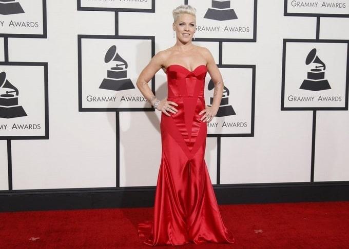 Pink en Johanna Johnson aux Grammy Awards: in ou out?