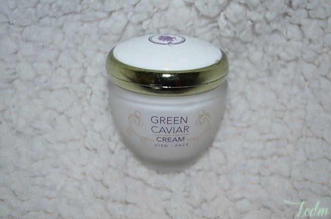 Crème visage green caviar