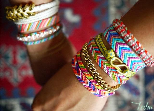 Tutoriel bracelets brésiliens