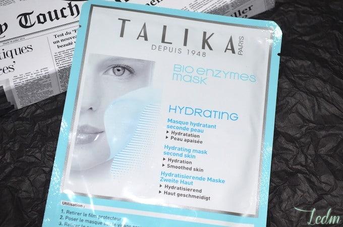 Masque hydratant de Talika
