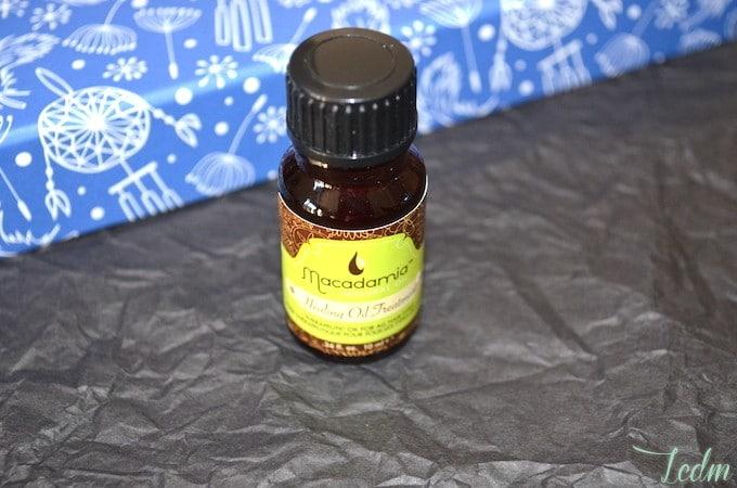 Huile curative capillaire macadamia natural oil
