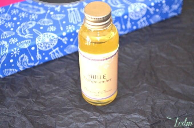 Huile de massage parfumée charme d'orient