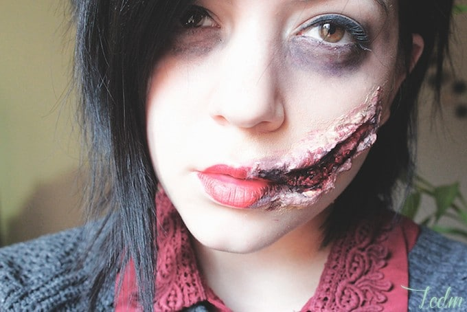 Ma s lection des 5 meilleurs tuto make up d 39 halloween - Maquillage cicatrice halloween ...