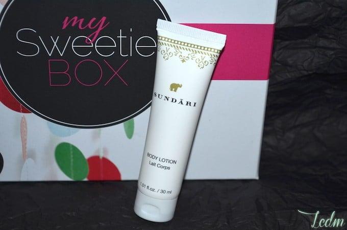 My Sweetie Box Body lotion Sundari