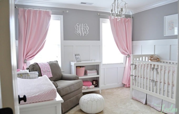Id es d co chambre b b fille for Decoration chambre de bebe