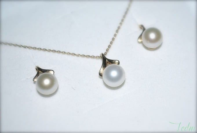 entretien collier de perle