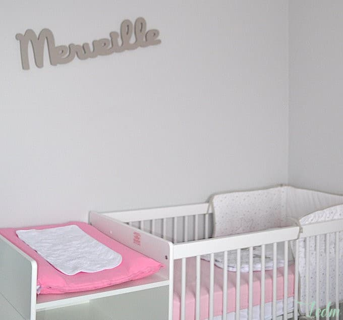 D co chambre bebe fille gris rose for Chambre bebe gris blanc rose