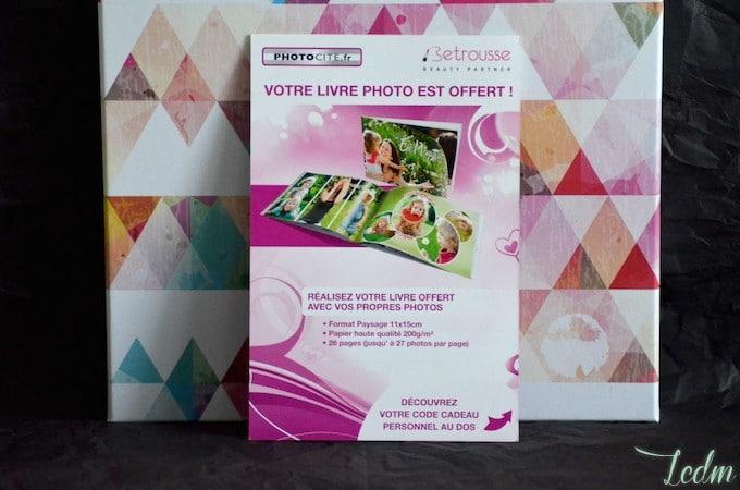 Livre photo à créer Photocité My Sweetie Box