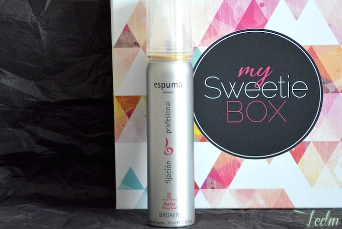 Mousse cheveux Broaer My Sweetie Box Pretty Selfie