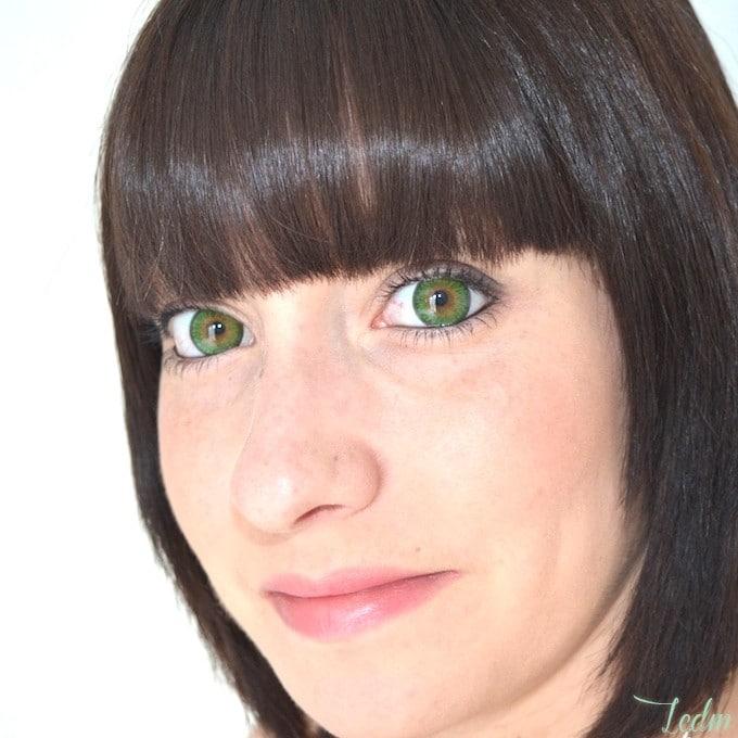 Lentilles de contact de couleur pour yeux foncés