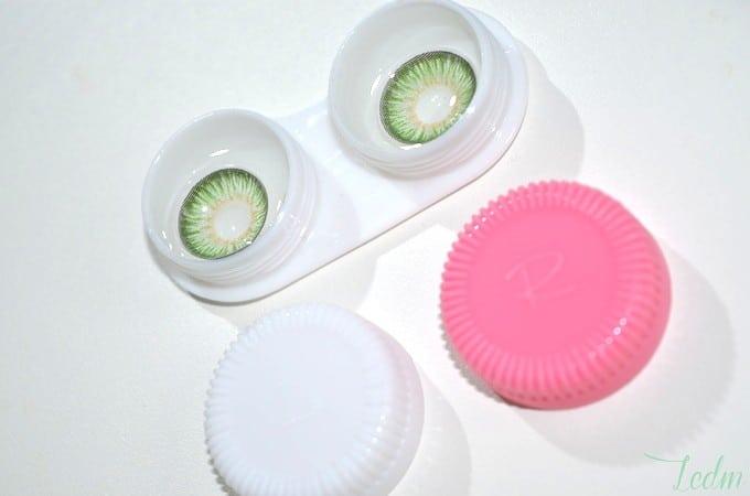 Lentilles de couleur Opticea
