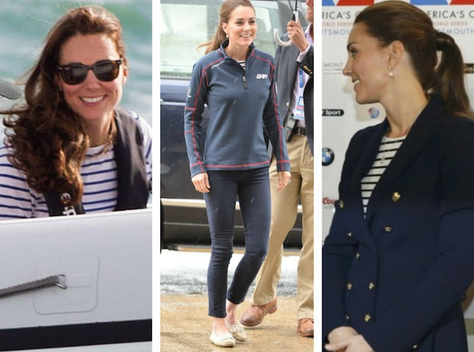 Kate Middleton Coupe de l'America