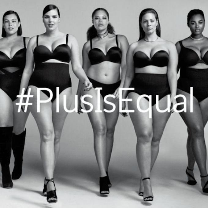 PlusIsEqual mannequins grande taille