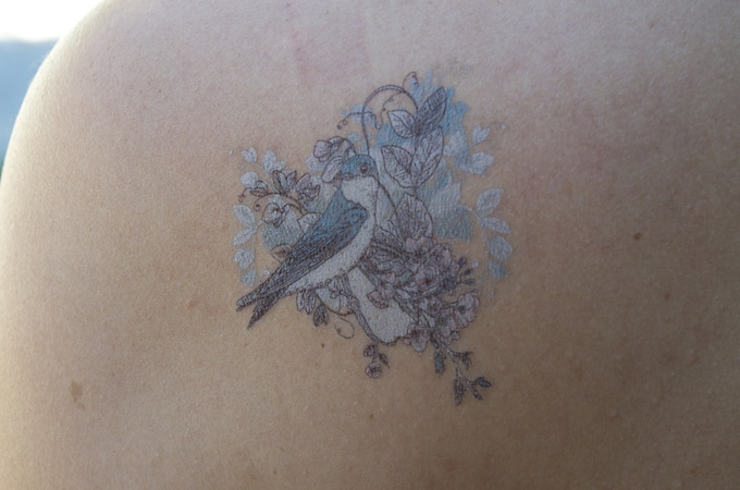 Tattoo temporaire