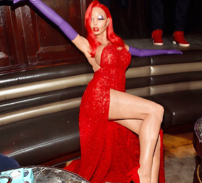 Déguisement Halloween 2015 Heidi Klum