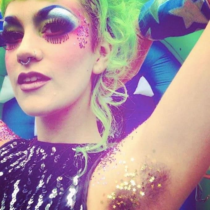 Tendance Glitter pits