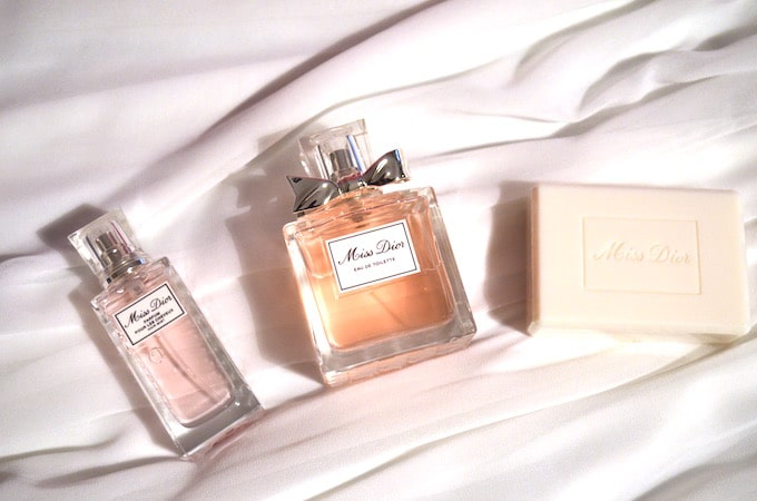 Parfum pour les cheveux Miss Dior