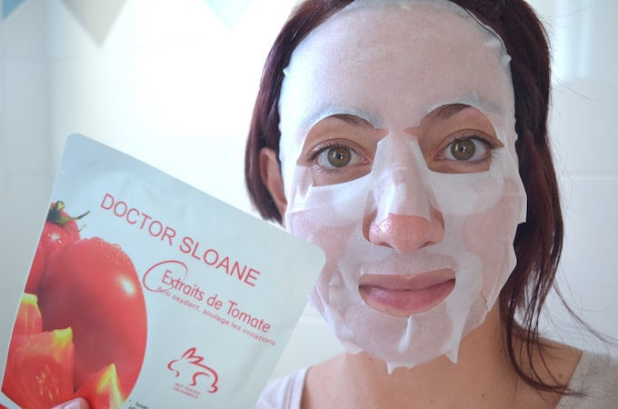 Test Doctor Sloane masques