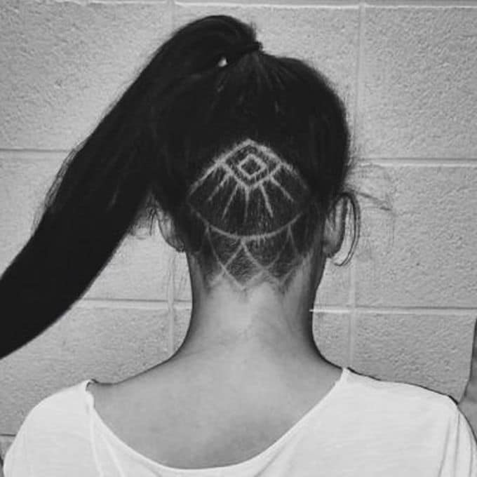 Undercut arabesque
