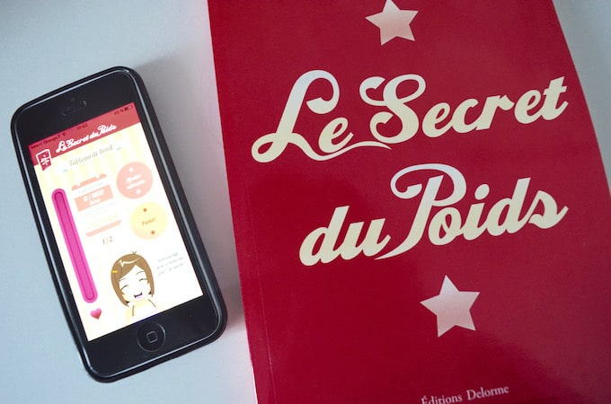 Appli + livre Le Secret du Poids