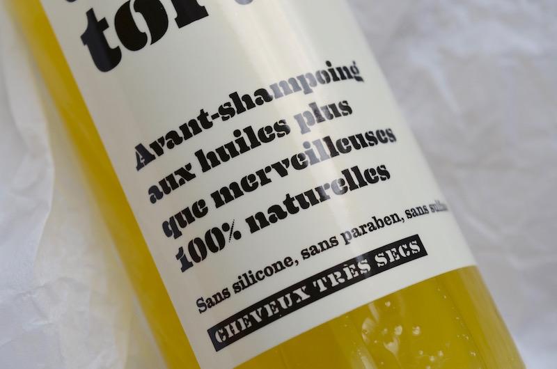 Avant-shampoing 100% naturel
