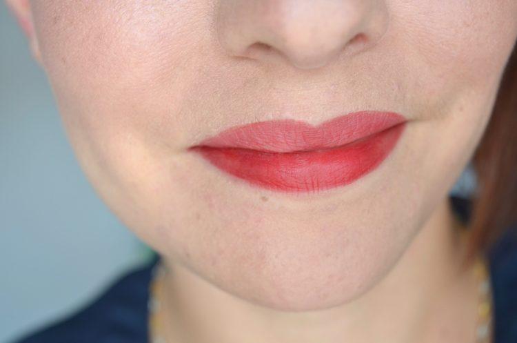 Encre à lèvres teinte Saucy