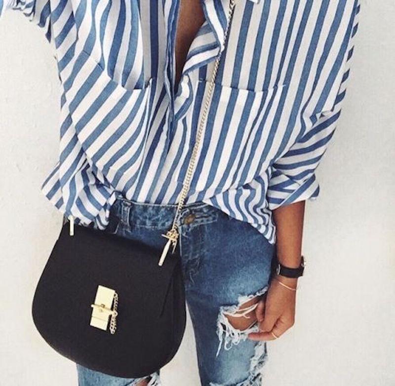 chemise-rayee-mariniere