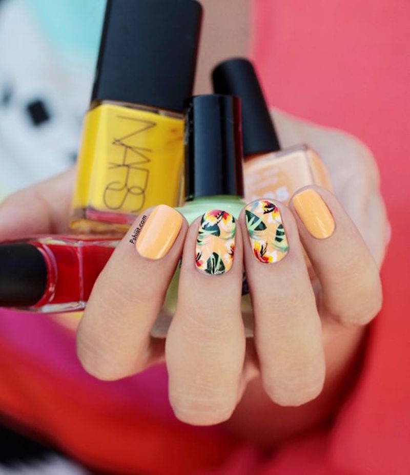 fleures-ongles
