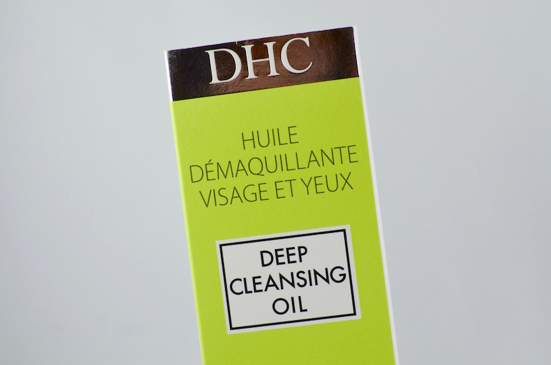 DHC huile démaquillante Deep Cleansing Oil