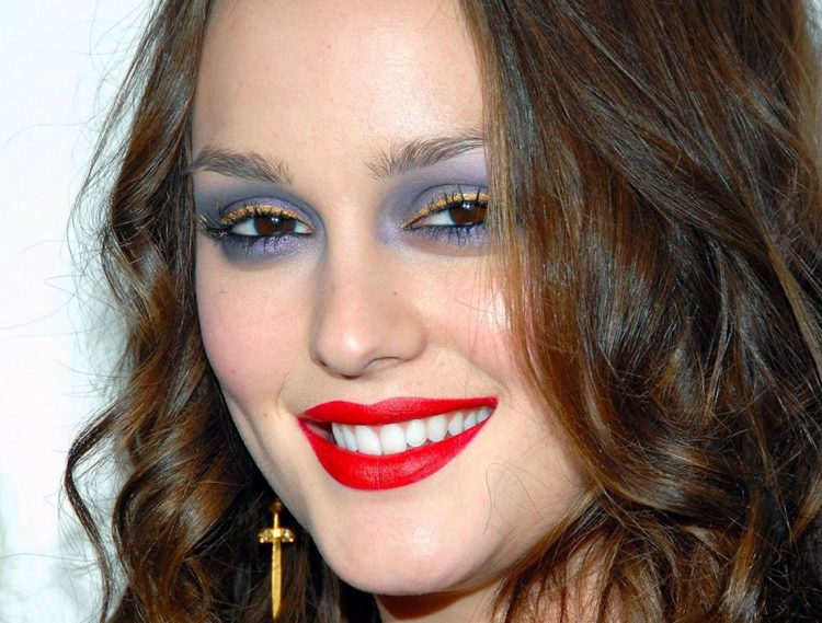 Maquillage raté Leighton Meester