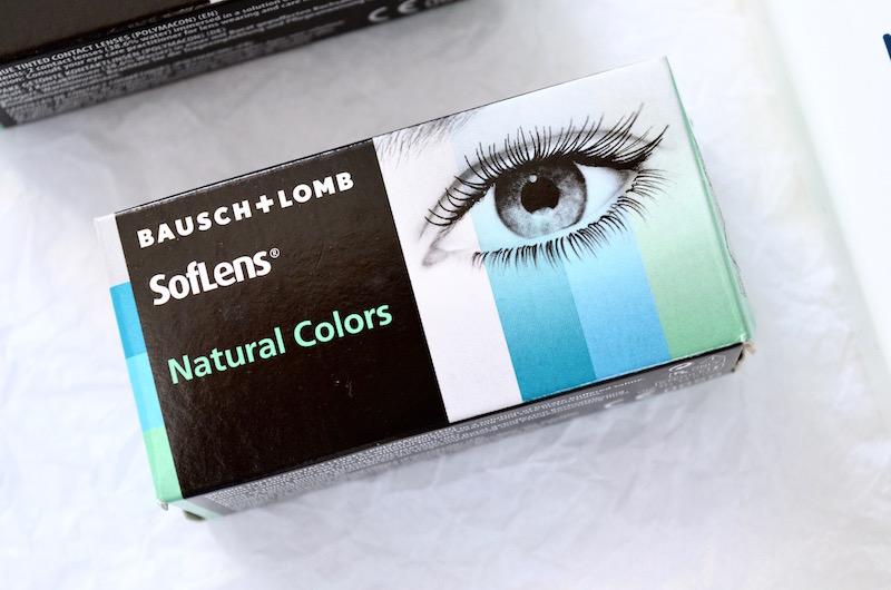 Lentilles de contact de couleurs