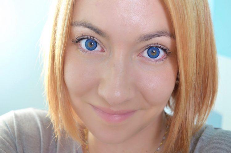 Lentilles contact couleur Topaz