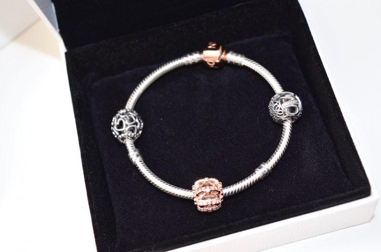 Mon bracelet Pandora à charms