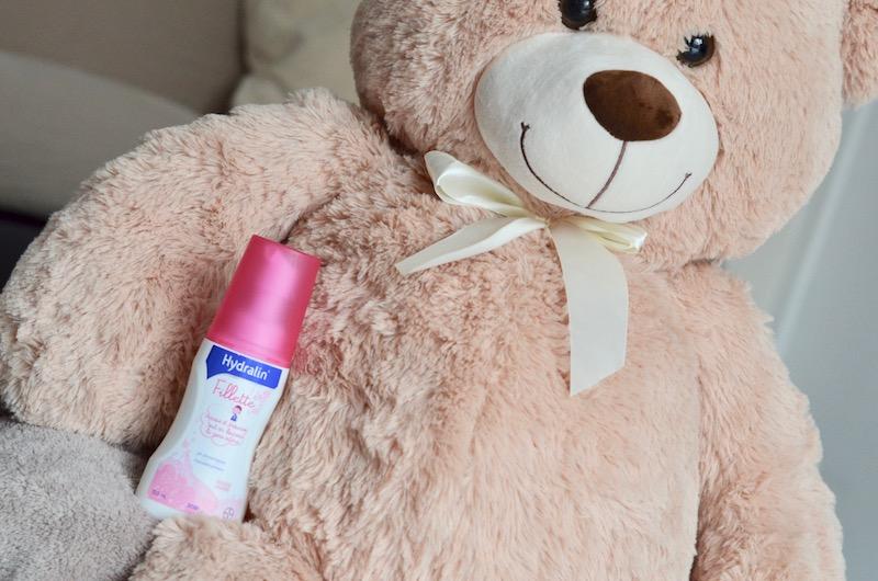 Mousse lavante Hydralin Fillette, pour l'hygiène intime bébé