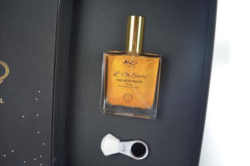 L'huile sèche pour le corps l'Or d'Azzio
