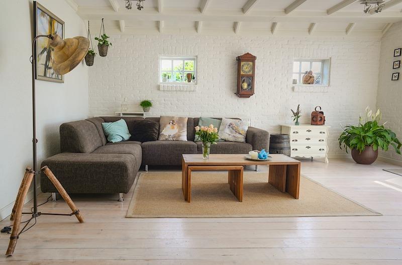 Décoration bois living room