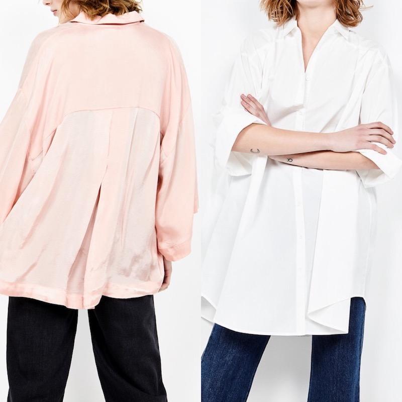 Tendances blouses 2018