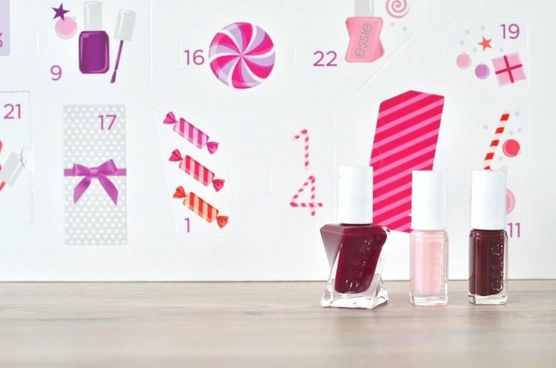 Vernis calendrier avent 2018